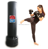 Free Standing Kick Boxing Punching Bag Taekwondo Training Bag