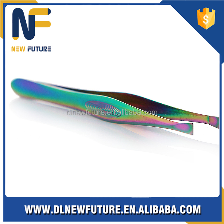 unique design angled tweezers NF-C029