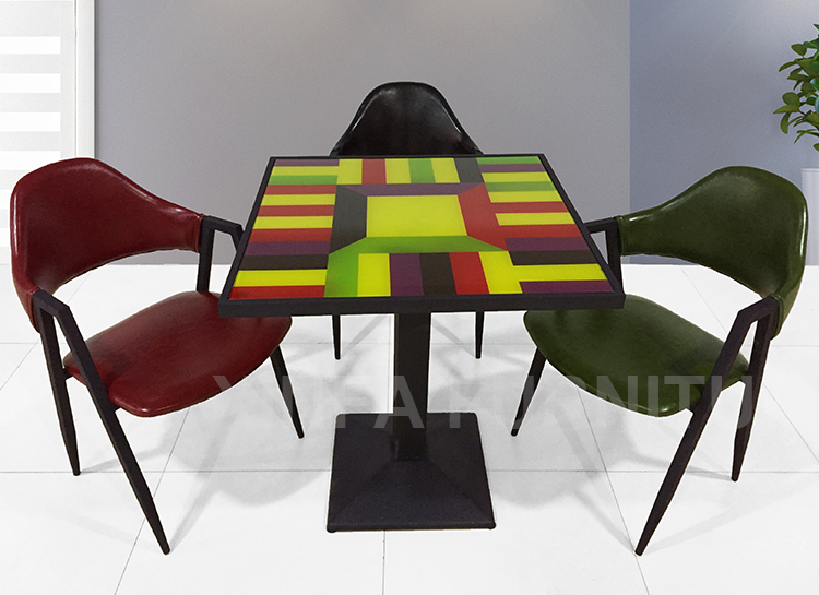 Square Glass Top Dining Table And Chairs Used For Fast  : HTB1zBEnJVXXXXbJXVXX760XFXXXg from www.alibaba.com size 750 x 545 png 484kB