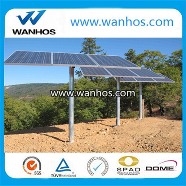 pv ground solar pole mounting