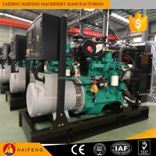 Factory Direct 160kw diesel generator set 200kva fuel consumption ISO9001