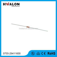 Electronics Component Supplier NTC Thermistor MF58 Glass Bead Type