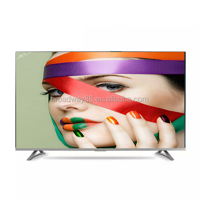 Hot Selling LED Smart TV: 55 inch 1920*1080P Full HD Super Slim widescreen LED Smart television with Android 4.4/support WIFI