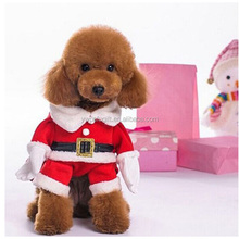 Christmas Dog Clothes Warm Coat Pet Cat Puppy Costume