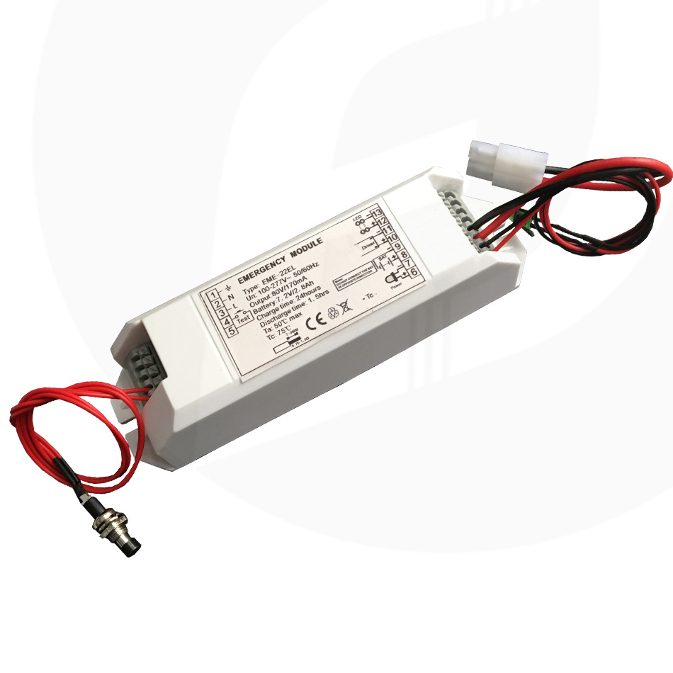 60 minutes emergency fluoresecent/fluorescent lighting emergency power/1000v u-out fluorescent emergency pack