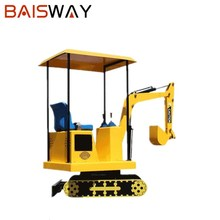 2017 Newest indoor mini kids amusement rides children excavator for sale