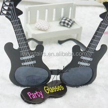 Electronic piano guitar style glasses party supplies funny glasses and props