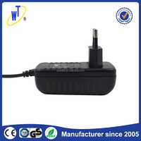 High capacity ac dc power 12v 1a adapter supply stable frequency