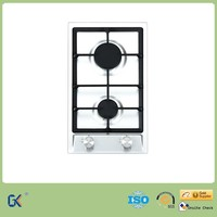 Home Kitchen Appliance Auto Electronic Ignition 2 Burner Gas Stove