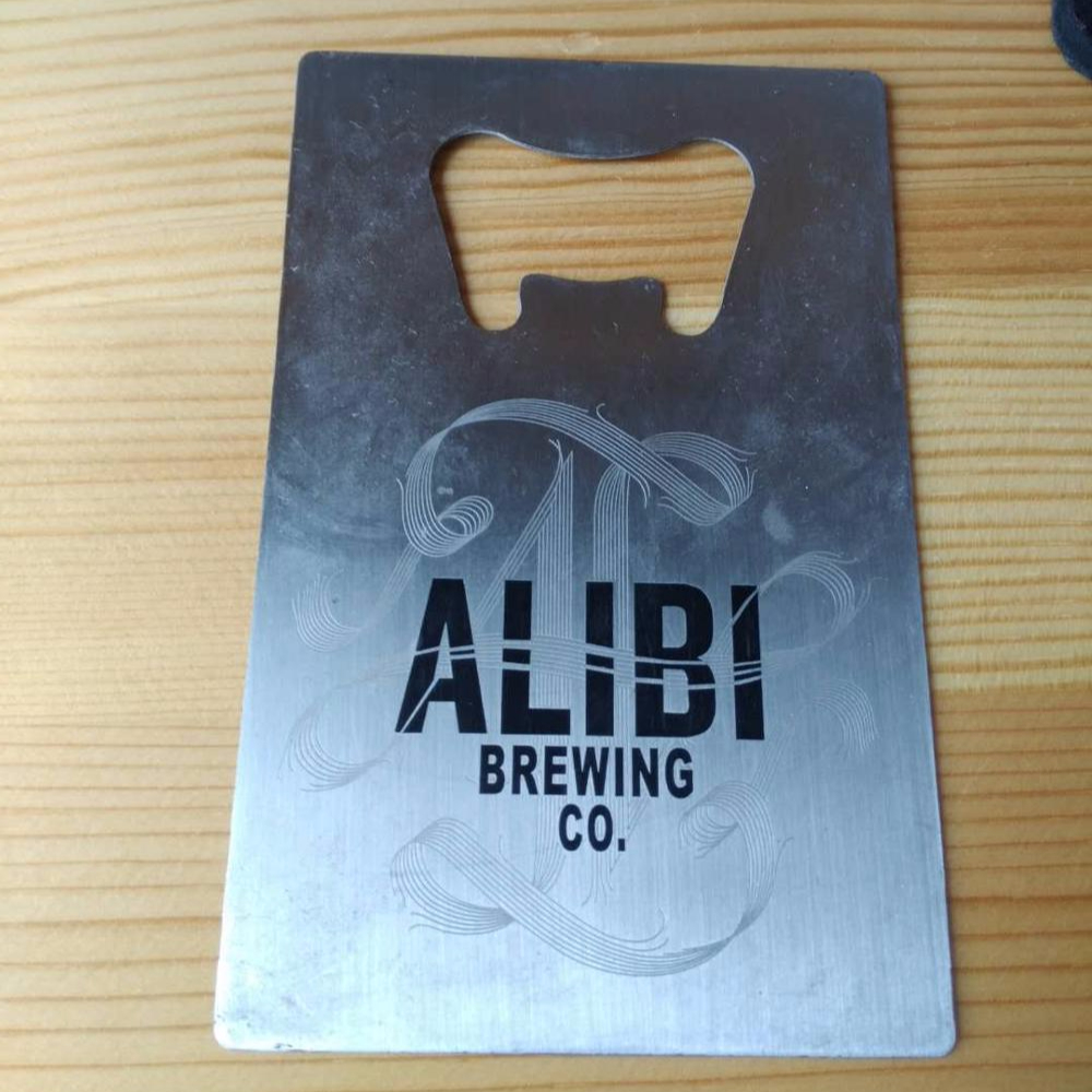 Business Card Size Bottle Opener for Your Wallet with Matt Chrome <strong>Metal</strong>,Custom your Logo <strong>Metal</strong> Business Bottle Opener Card