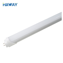 Competitive price 1200mm 5 Feet 4ft 3ft 6000-6500K T8 Led Tube Light with aluminium+milky or clear PC