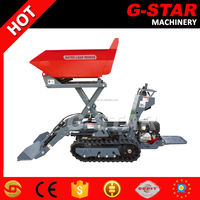 Hot sale new power crawler barrow BY800 with gasoline engine