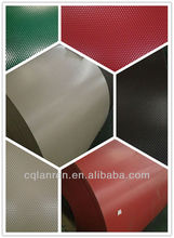 Roofing material embossed color coated aluminum coil