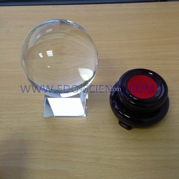 Wholesale china supplier crystal balls glass for