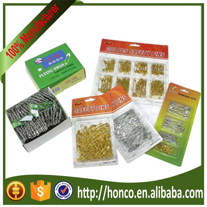 Alibaba Manufacturer safety pins with low price 000#-5#