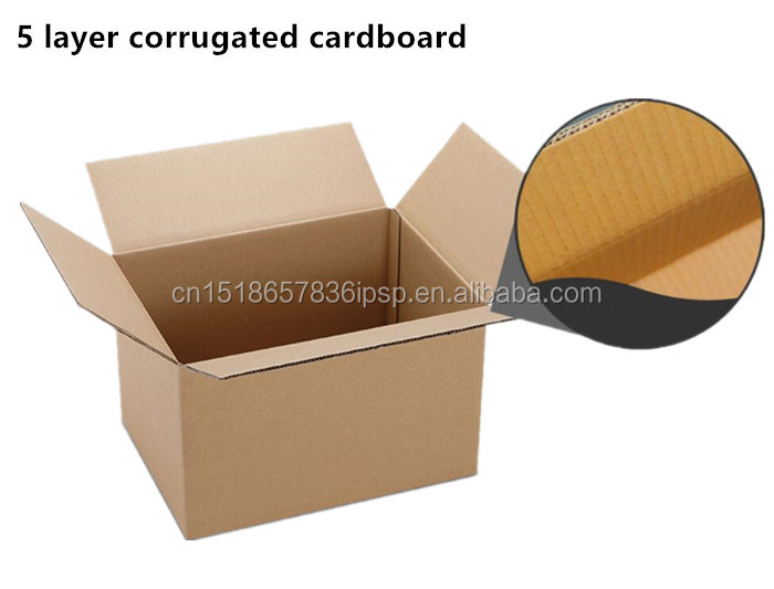 small quantty customized Corrugated Rectangular cosmetic box packaging
