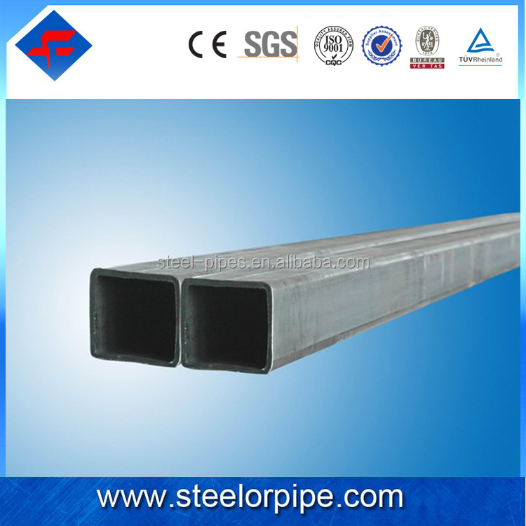 China manufacture good quality steel square tube , square steel tube for sale