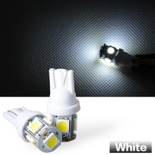 Super quality white/ blue/ red/ yellow auto doom light, t10 5050 5smd