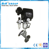 2 Inch Stainless Steel 4~20mA Pneumatic Angle Seat Valve