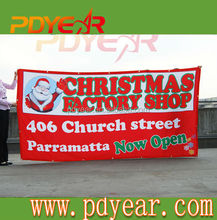 cheap custom made flags for christmas promotion