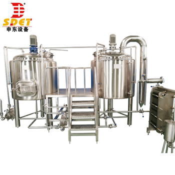 ISO PED Certificate 500L 1000L Craft Beer Mini Brewery Equipment