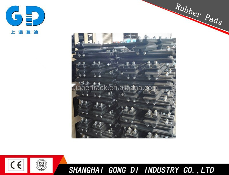 Excavator Rubber Tracks Pads with Sprocket Rubber Track Pad/Shoe
