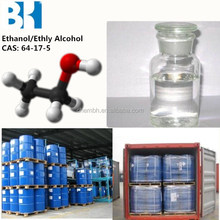 industrial grade 95% and 99.99% ethyl alcohol , Ethanol for anti-freeze and fuel oil