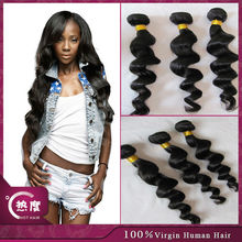 In stock A-0756 Wholesale factory price paypal acceptable bresilienne human hair weaving