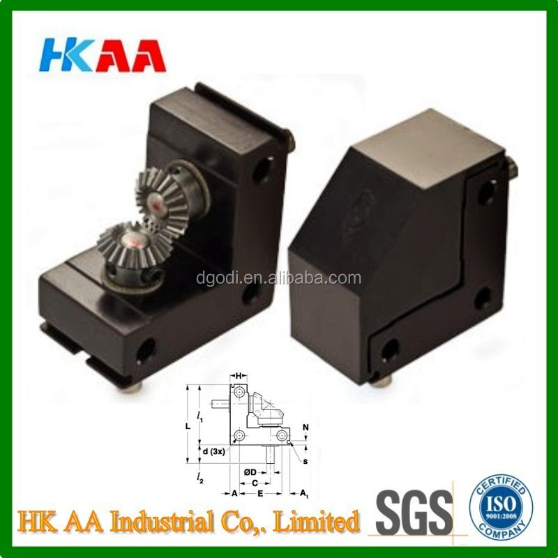 China supplier OEM high quality Right Angle Drives, Right Angle Bevel Gear Drives