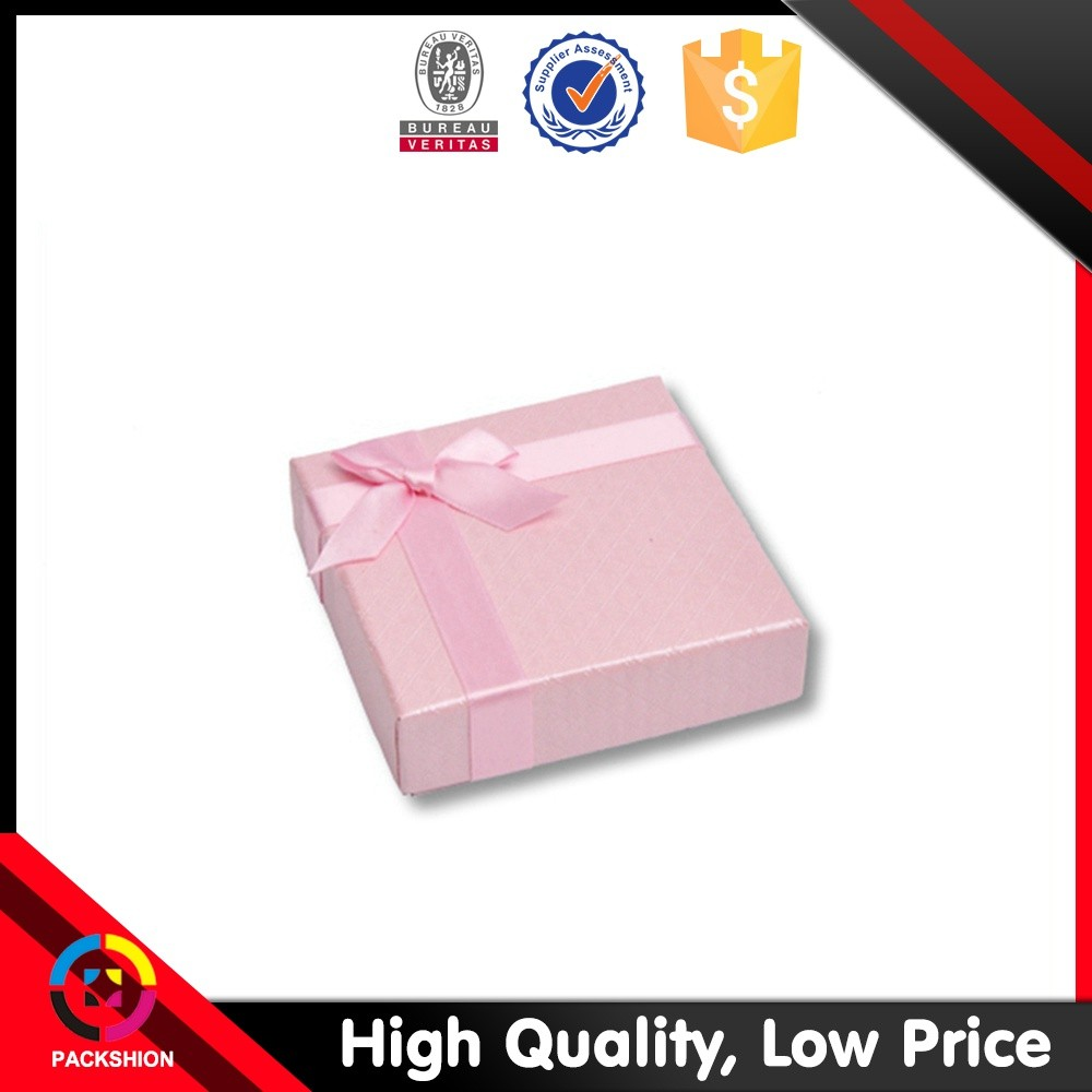 Customized Paper Jewelry Boxes For Rings Only With Logo Printing