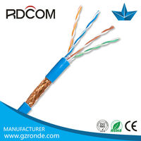 Cat5e SFTP low voltage computer network cable made in China