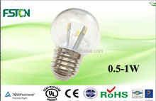 g45 led bulb lighting 120v 230v e27 b22 long lifetime and energy saving 0.5w-1w