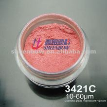 Sheenbow 3421C cosmetic grade pearlescent powder color FOR powder chalk