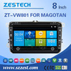 8inch touch screen Dvd/gps/radio/video/3G/gps navigation for vw passat b5 multimedia player