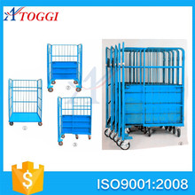 wire mesh roll transportation pallet cage