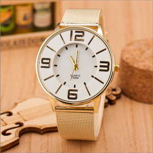 Hot New Products For 2015 Fashion Dress Watches Women Big Dial relojes de mujer