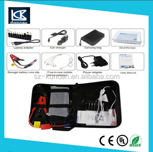 SZKUNCAN car battery jumper cables 15000mAh car jump starter/mini car booster for emergency use/power