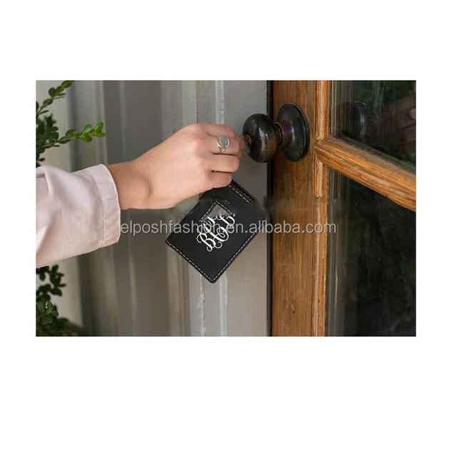 Monogram ID Holder Key Chains For Women