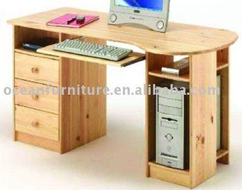 Pino escritorio de la computadora buy product on - Escritorio de pino ...