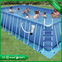 any size outdoor rubber swimming pool
