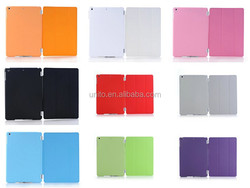 for ipad mini smart cover with PC back cover,Case cover for iPad mini 3 2 1