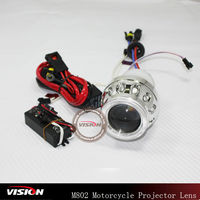 hid h7 mini motorcycle projector lens
