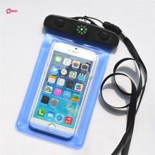 HOT Selling Swimming PVC durable armband phone case with Waterproof Compass bag
