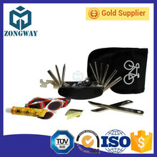 Portable Bicycle Multi-function Repair Tool Bag Folding Tire Repair Multifunctional Kit Set