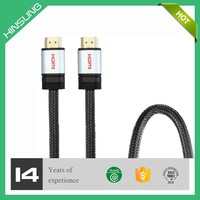 Metal hdmi 1.4 cable high speed hdmi cable with ethernet hdmi cable