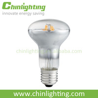 Vintage reflector r80 r63 r50 led filament led bulb 4w filament led e27 2200k 2700k led bulb lights