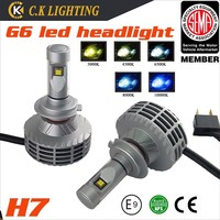 2014 new arrival led headlight conversion kit for with cree chips car h7 led headlight bulb