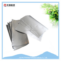 aluminum foil plastic food packaging stand up pouches