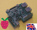 Raspberry Pi - 4 USB Hub & I2C with USB-to-TTL -RS232 - 1 Serial Port Board