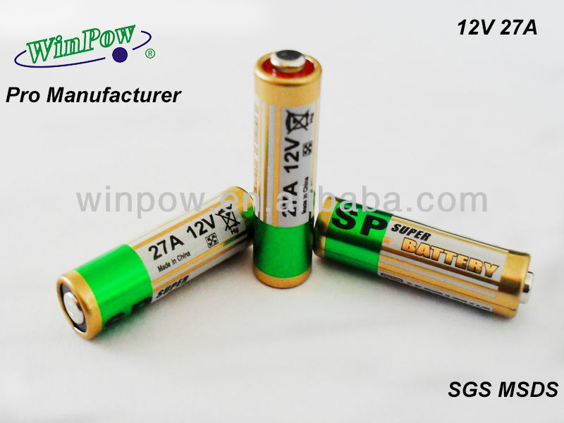 good price of dry cell battery 12 volt 23a from manufacturer